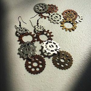 Steampunk Jewelry, Steampunk Earrings